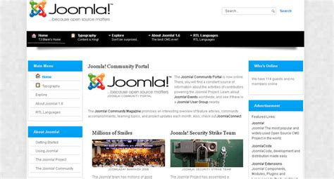 Template Joomla Software | 30 professional free joomla templates flashuser