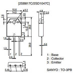 d1047 transistor uses 2sd1047 datasheet pdf datasheetq
