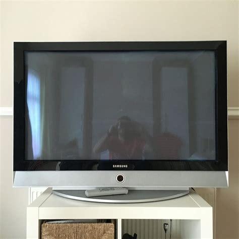 samsung 42 inch tv sold samsung 42 inch plasma flat screen tv in yeovil somerset gumtree
