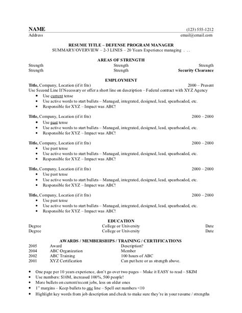 ultimate resume resume ideas