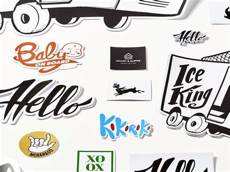 Sticker Drucken Freiform by Siebdruck Aufkleber Freiform Die Cut Kiss Cut Camaloon