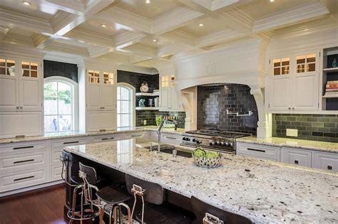 Kitchen Design Cherry Cabinets by The Beauty Of White Ice Granite