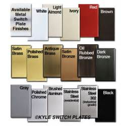 colored outlets all switch plate finishes 14049 1363985896 1280 1280 jpg