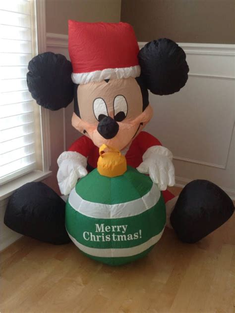 airblown disney mickey mouse 3 ft decoration disney collectibles