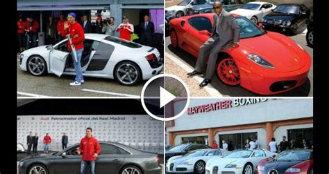 mayweather cars 2016 cristiano ronaldo vs floyd mayweather cars 2016