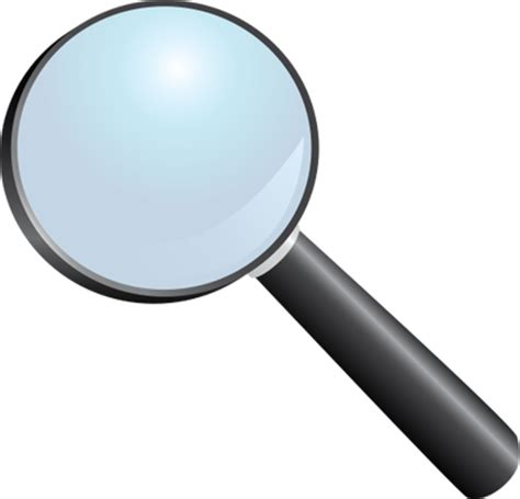 Kaca Pembesar Frame Besi Loupe Magnifying Glass Magnifier Lens magnifying glass vector free clip free clip on clipart library