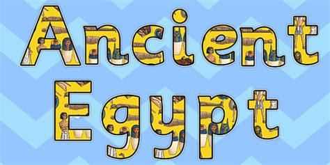 ancient egypt display letters ancient egypt display