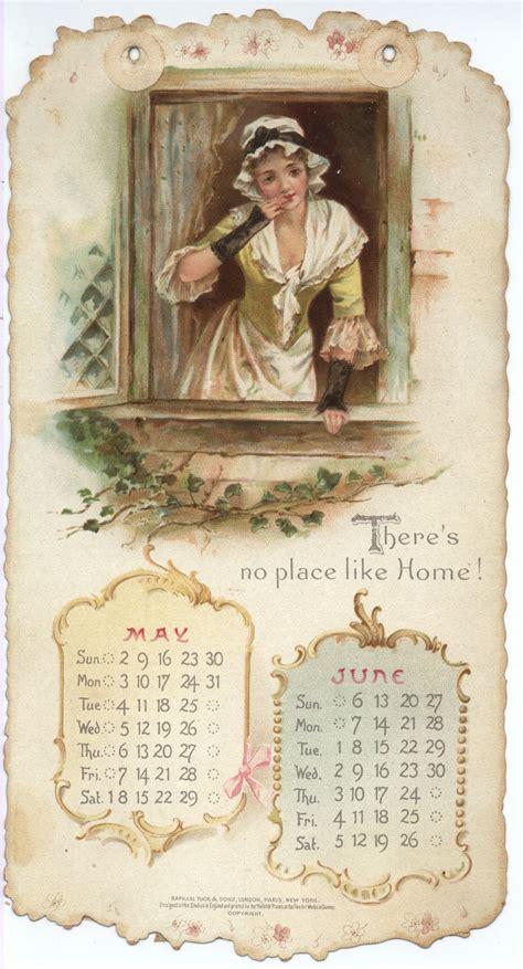 home sweet home calendar   tuckdb ephemera