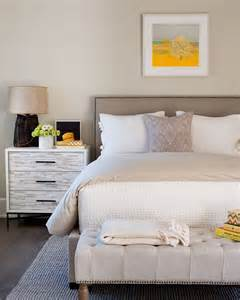 neutral bedroom with pops of color pops of yellow bedroom wayne windham architect