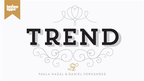 design font trends trend font family from latinotype