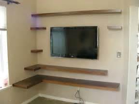 25 best ideas about corner tv shelves on