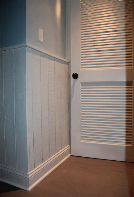 Pallet Wainscoting by Painted Pallet Wainscoting Pallets