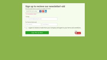 Newsletter Form Templates Sign Up To Recieve Our Newsletter Template Youtube Sign Up For Our Newsletter Template