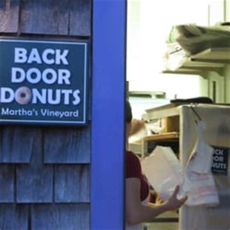Back Door Donuts Oak Bluffs by Back Door Donuts Bakeries Oak Bluffs Ma Yelp