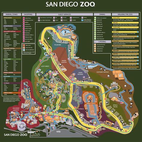map san diego zoo safari park san diego zoo map my