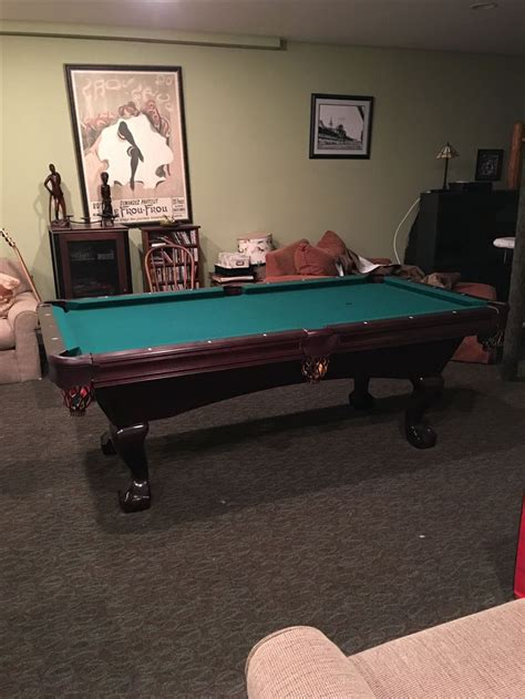 brunswick pool table assembly best 25 slate pool table ideas on