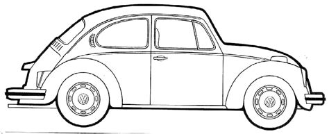 printable coloring pages vw bug vw beetle coloring pages 07 books worth reading