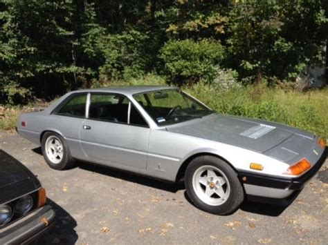 1982 ferrari 400i gt 5 speed manual for sale sell used 1982 ferrari 400i gt manual transmission 32k orig miles in wayne new jersey