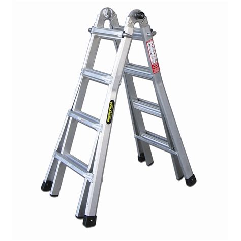 Multi Purpose Ladder rhino mighty 15 120kg aluminium multi purpose ladder
