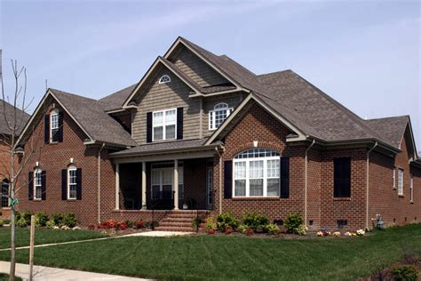Traditional Brick House Plans by Traditional Home Plan With Brick Exterior 30052rt