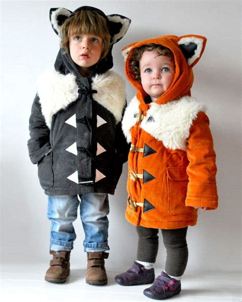 adorable coats  turn children  animals  pics
