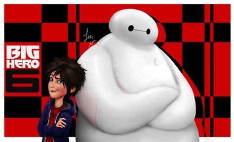 film disney big hero hiro and baymax big hero 6 fan art 37267016 fanpop