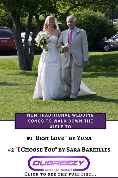 Non Traditional Songs To Walk Down The Aisle To   Wedding DJ