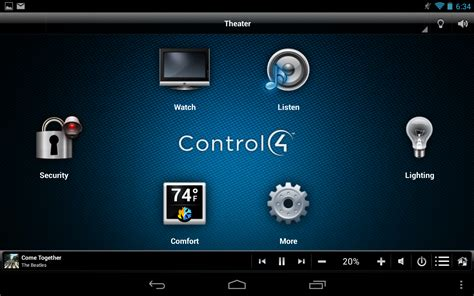control4 myhome appstore for android