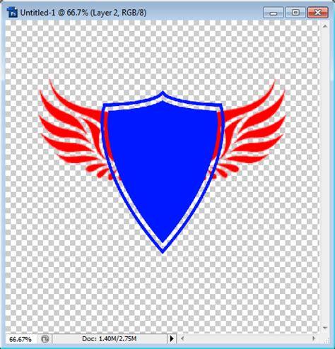 membuat logo handmade cara membuat logo versi shield