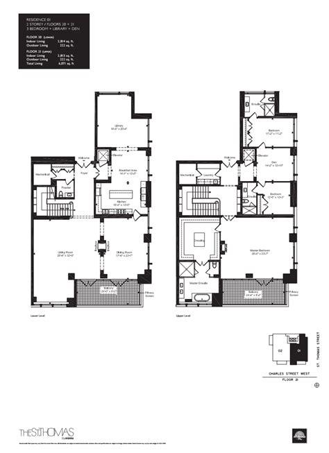st thomas suites floor plan onestthomas floorplan 14 one st thomas at 1 st thomas st
