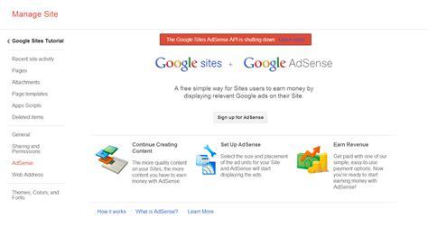 Adsense Google Sites | adsense google sites tutorial