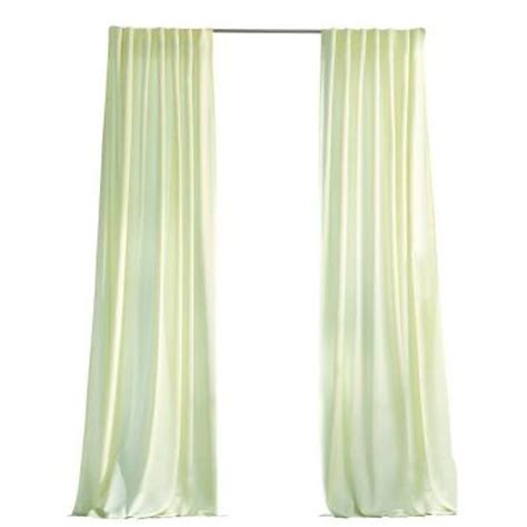 home depot curtains martha stewart martha stewart living cream outdoor back tab curtain