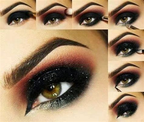 eyeshadow tutorial dark simple but dramatic smokey eye makeup tutorial be modish