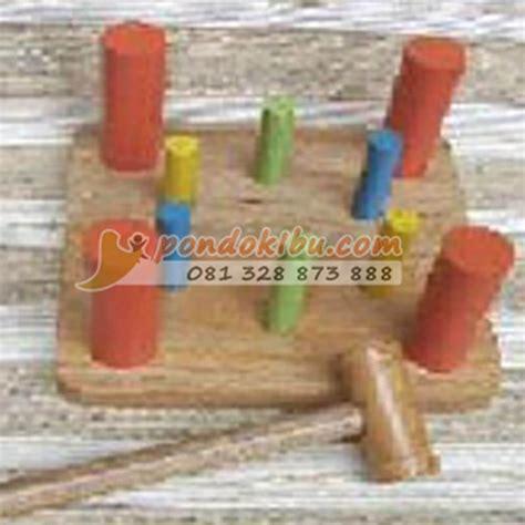 Mainan Kayu Edukasi Edukatif Palu Badut palu mainan anak edukatif pondok ibu