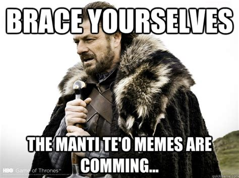 Manti Te O Meme - brace yourselves merry xmas guestbook posts are coming