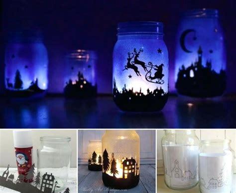 discount home decor canada outdoor christmas lanterns adorable winter scene inside a