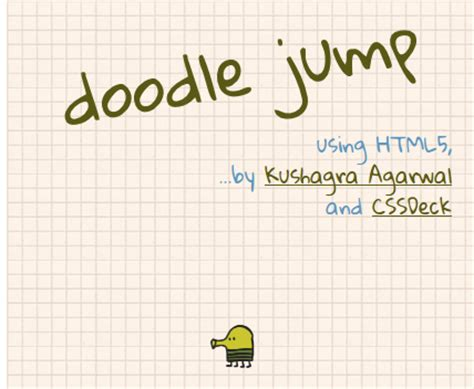 how to do well in doodle jump doodle jump recreated in html5 html5 development