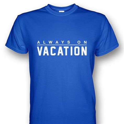 tshirt always on vacation hijau always on vacation t shirt end 8 4 2018 7 44 pm
