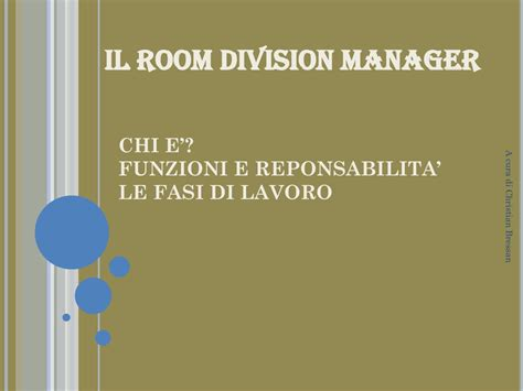 rooms division manager il room division manager
