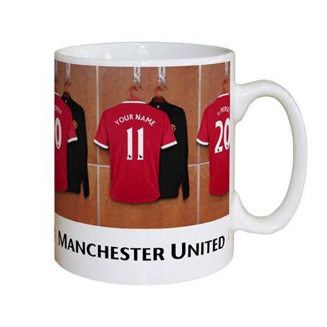 Mug Melamin Manchester United personalised manchester united dressing room mug the gift experience