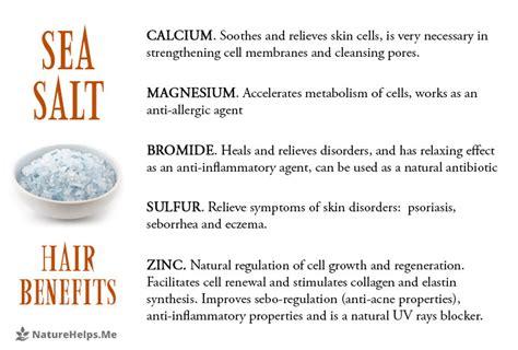 sea salt l benefits sal exfoliante para el cuero cabelludo el tratamiento y