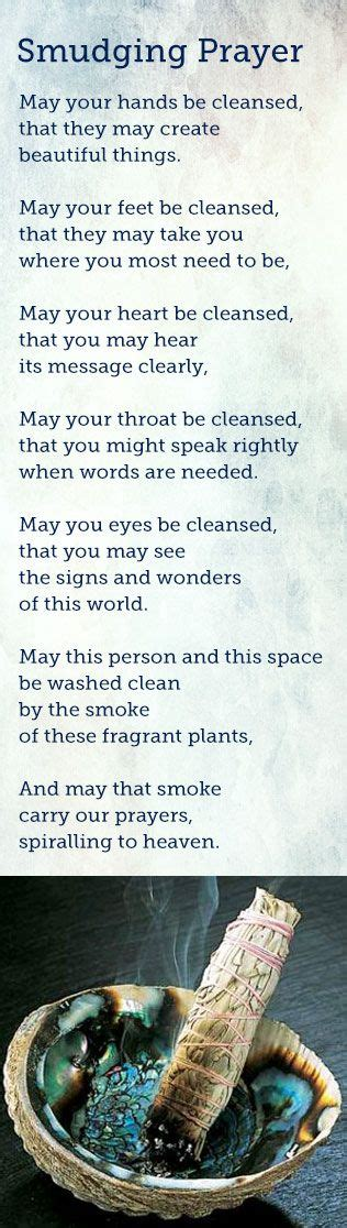 How To Smudge Your House by Smudging Prayer Might Play Around With The Wording A Bit