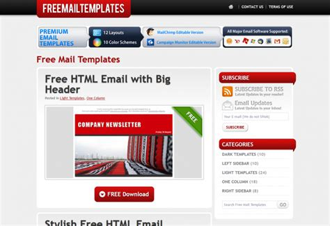 e mail marketing templates gratuitos de 576 modelos