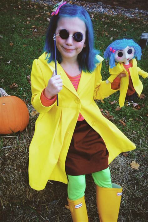 coraline costume button eyes  coraline doll