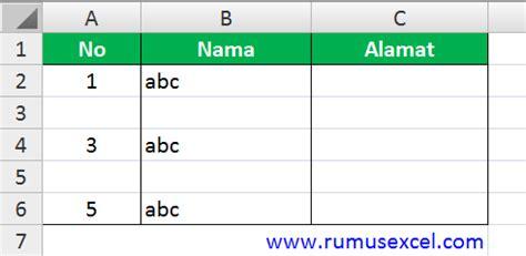 cara membuat nomor halaman urut di excel cara membuat nomor urut otomatis dengan fungsi if