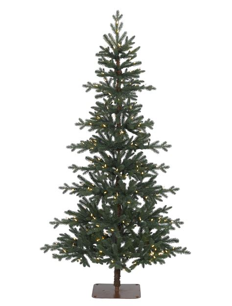alpine pre lit christmas tree balsam hill uk