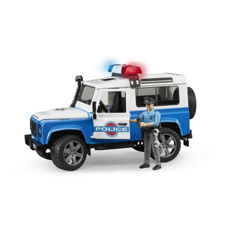 land rover bruder bruder 174 land rover defender with accessories 02595