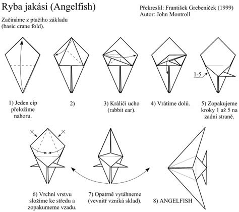 Angelfish Origami - fish origami image search results