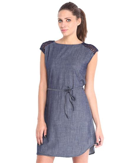 Dress Zaskia Kotak Vs buy tokyo talkies blue cotton dresses at best prices in india snapdeal