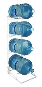 4 bottle water cooler bottle rack